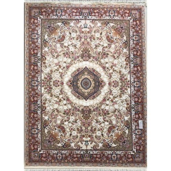 فرش ماشینی بهشتی تبریز 1200 شانه اکرلیک کد 1203541