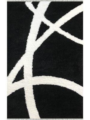 فرش شگی فلوکاتی کنزو پرسان پلی استر کد 3114453