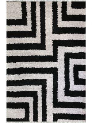 فرش شگی فلوکاتی کنزو پرسان پلی استر کد 3114501