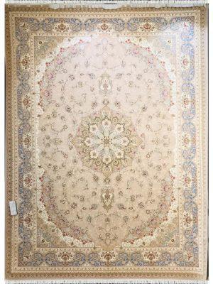 فرش ماشینی خاطره کویر اصفهان شکلاتی کد 1203578