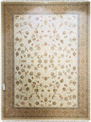 فرش ماشینی خاطره کویر افشان سلطنتی کد 1203753