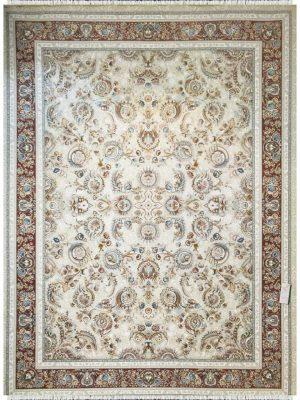 فرش ماشینی پارس نقش النا کرم کد 1203838
