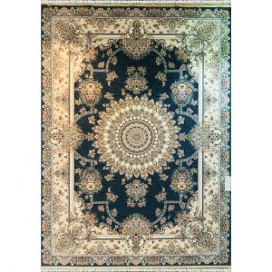 فرش ماشینی 1200 شانه خاطره کویر یاسمن کد 1406353