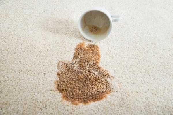 از بین بردن لکههای چای و قهوه بدون شستشوی فرش