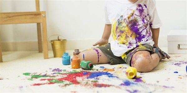 فرش کودک بافته شده با الیاف پلی پروپیلن مقاومترین نوع الیاف در برابر لک شدگی است