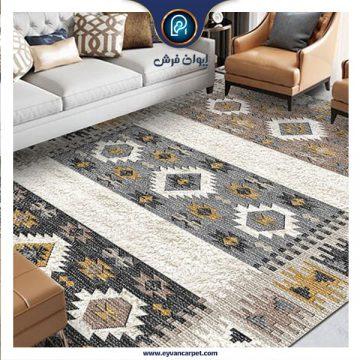 نحوه انتخاب بهترین رنگ فرش برای پذیرایی
