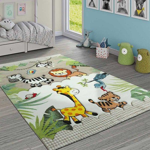 چیدمان فرش در اتاق کودک