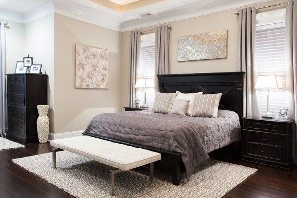 ابعاد فرش مناسب برای زیر تخت خواب