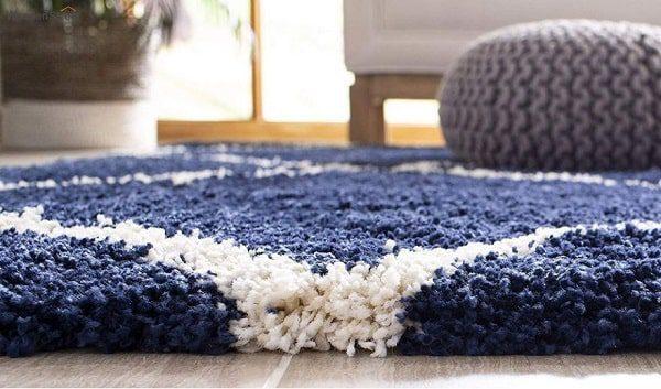 فرش مدرن شگی، گرم و لطیف، مناسب برای استفاده در تمام فضاها