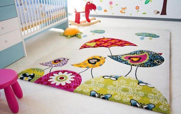 فرش مدرن عروسکی، تکمیل کننده دکوراسیون اتاق کودک