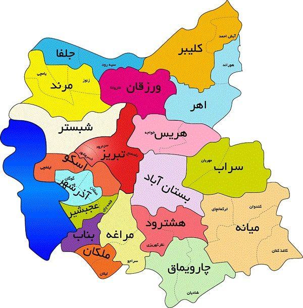 خاستگاه اصلی فرش تزئینی شهر سردرود در آذربایجان شرقی است.