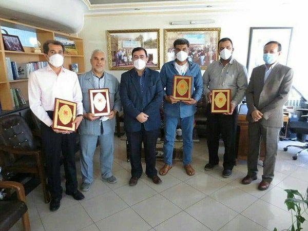تجلیل از اهداکنندگان مستمر خون سادات به مناسبت عید سعید غدیر خم
